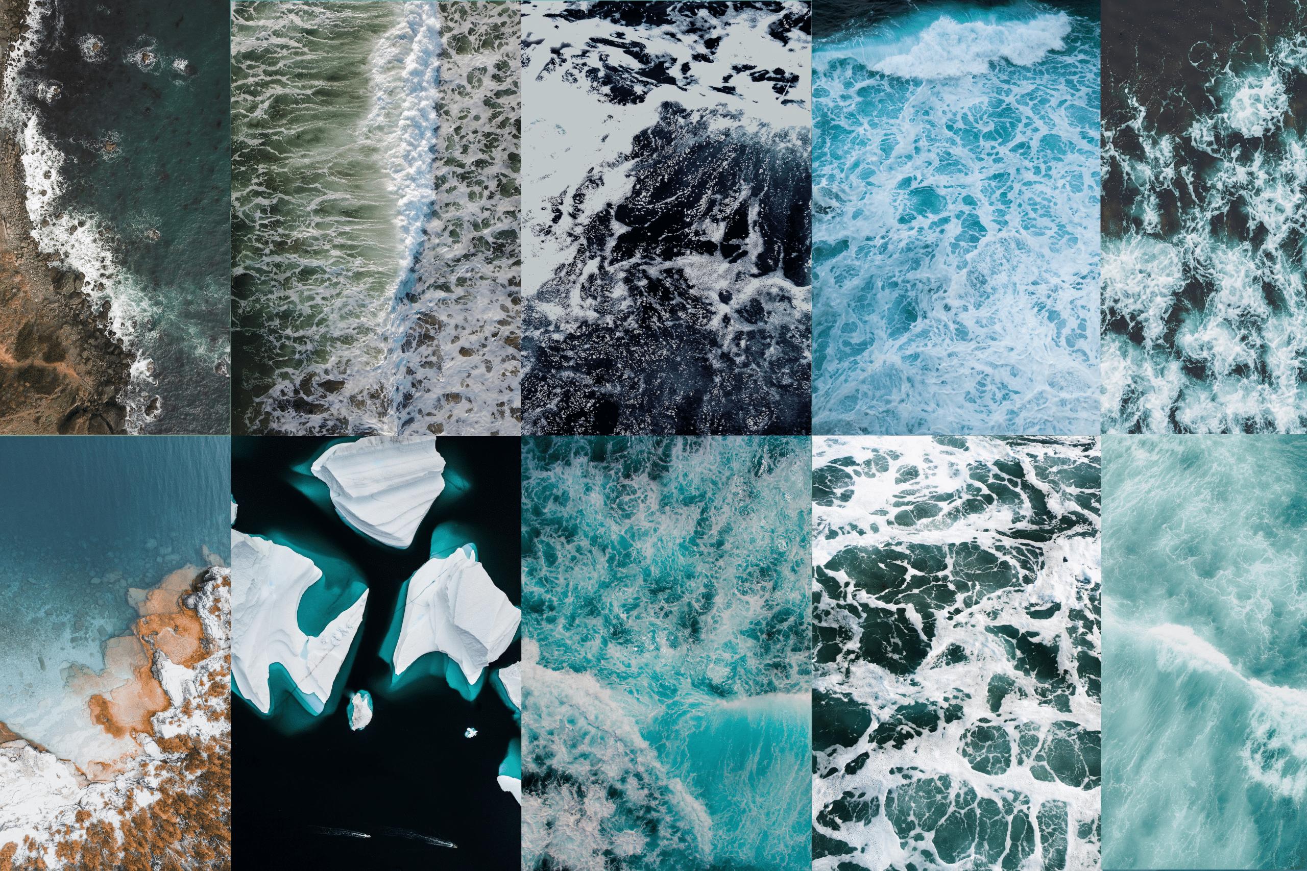 Water patterns