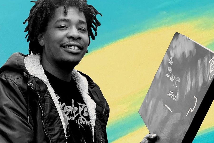 Transgender rapper NOVAGAWD