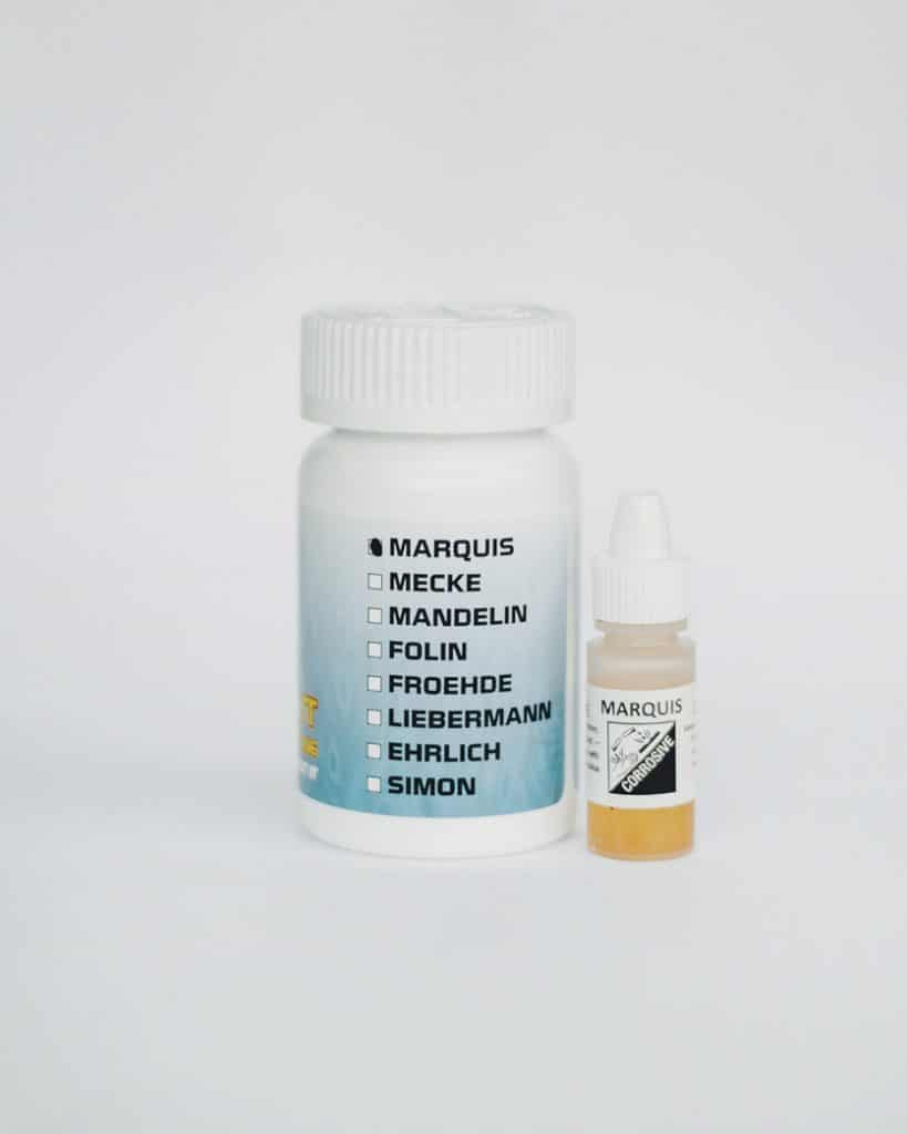 Marquis drug test kit
