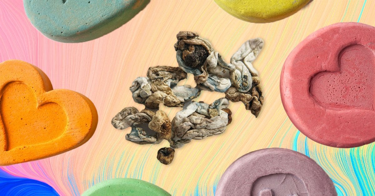 Ecstasy and shrooms