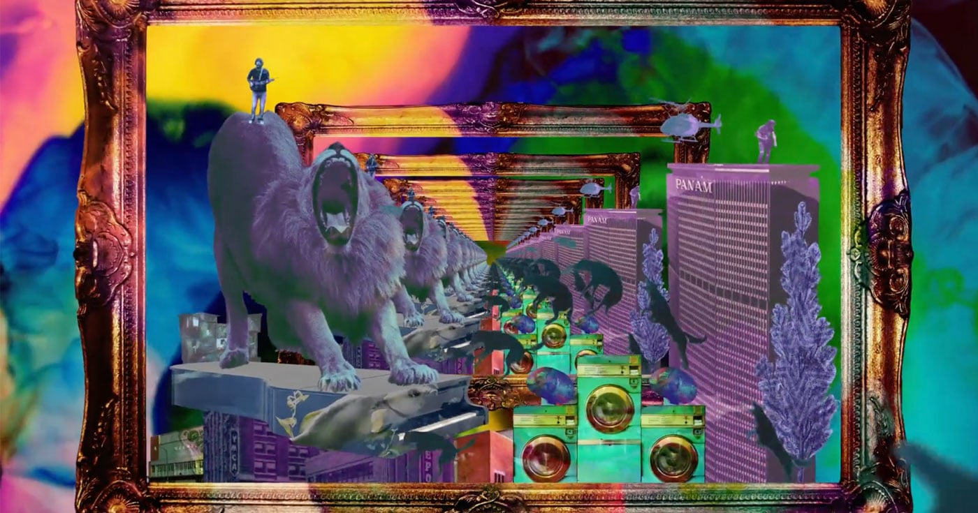 DoubleBlind: Image from psychedelic music video by Circles Around the Sun. In this article, DoubleBlind explores the Psychedelic Video Museum.