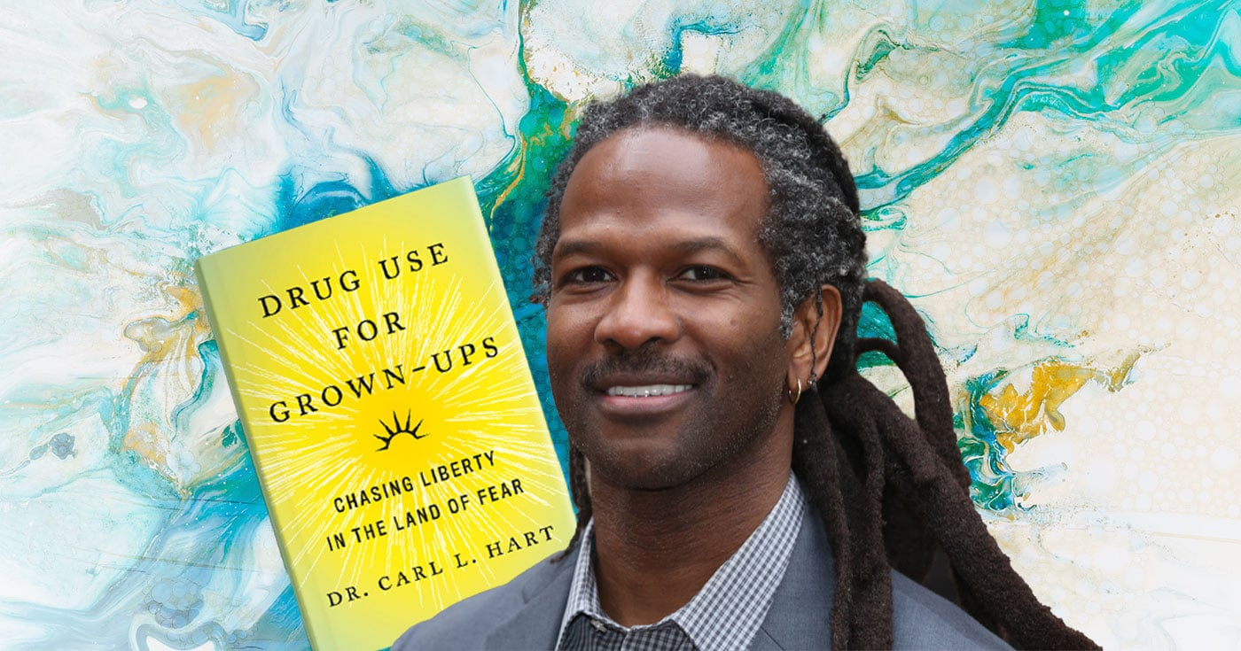 DoubleBlind: Image of Dr. Carl L. Hart and his new book