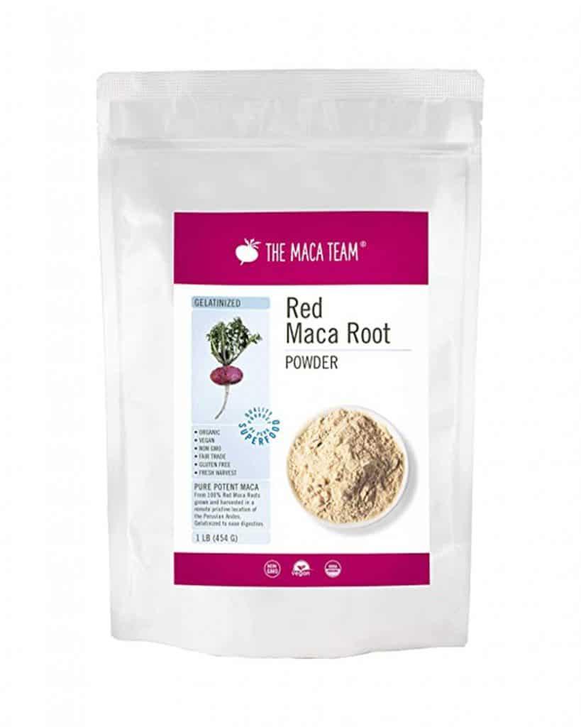 Bag of The Maca Team's Red Maca Root Powder