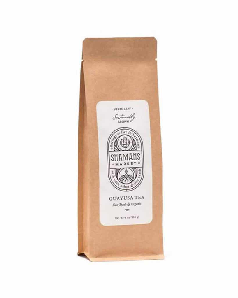 Bag of Guayasa Tea from The Shaman's Market