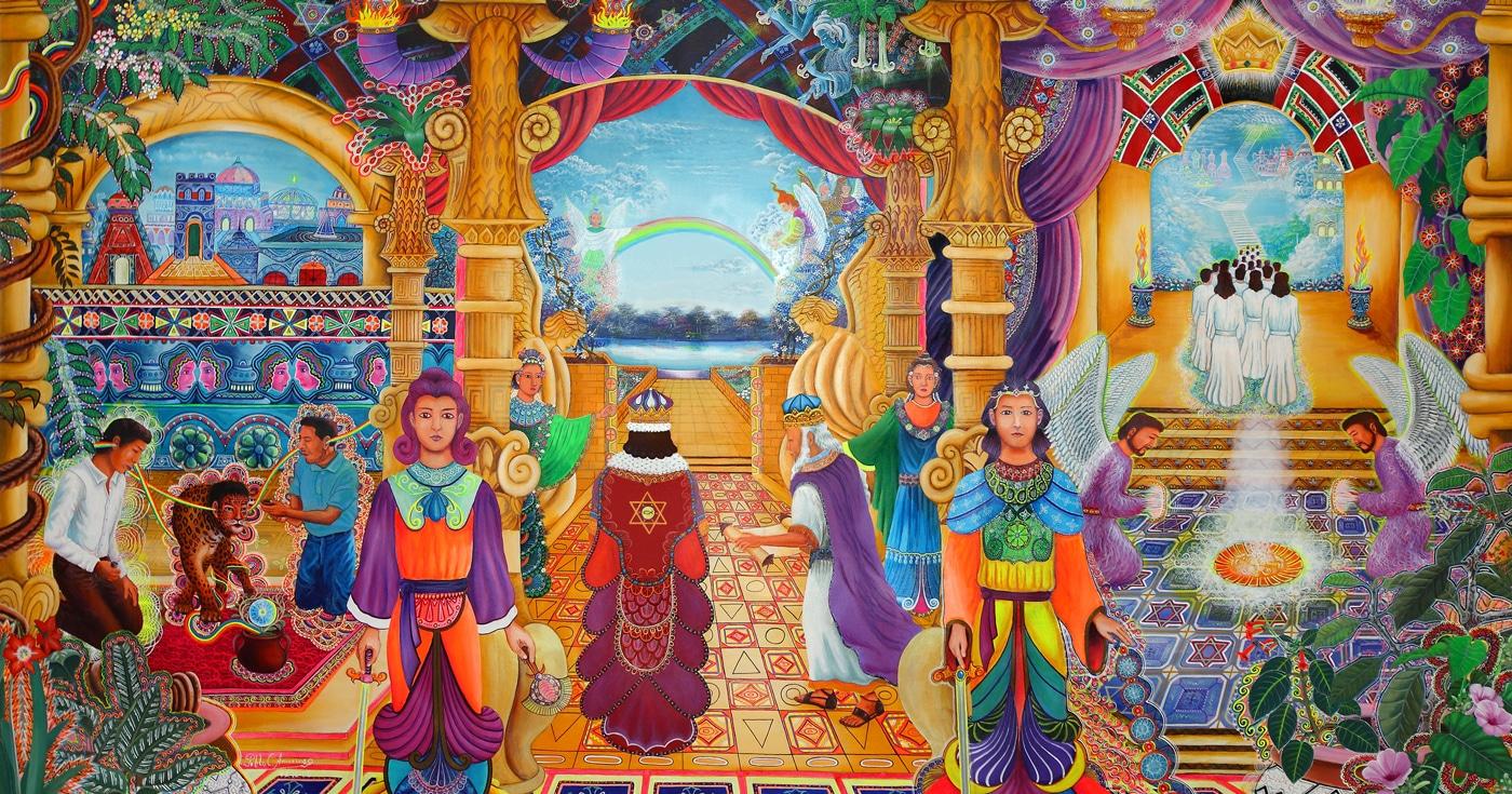 indigenous ayahuasca art