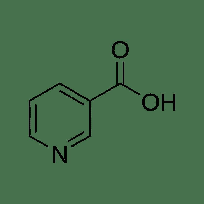 niacin molecular structure