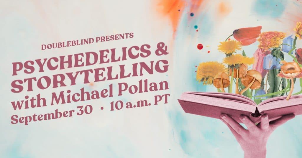 Michael Pollan event flyer