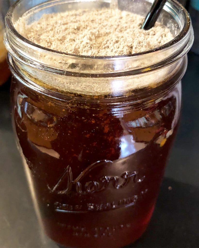 mushroom honey